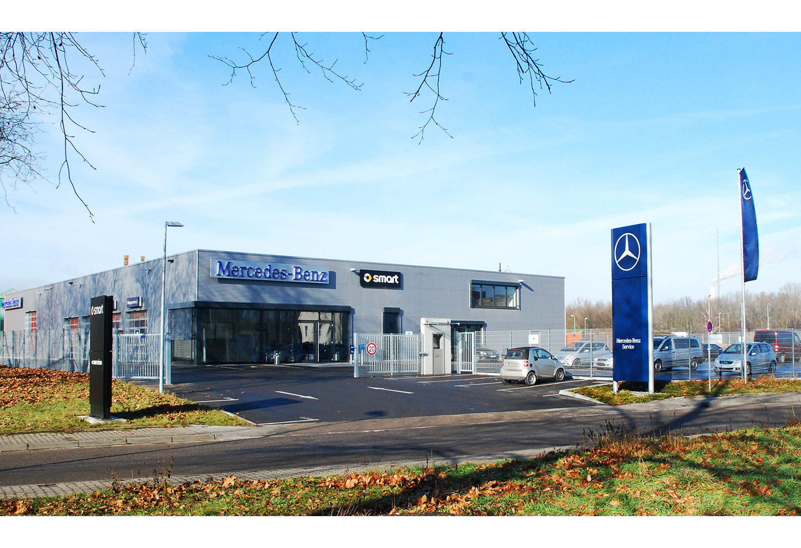 Mercedes Benz Servicebetrieb in Wörth