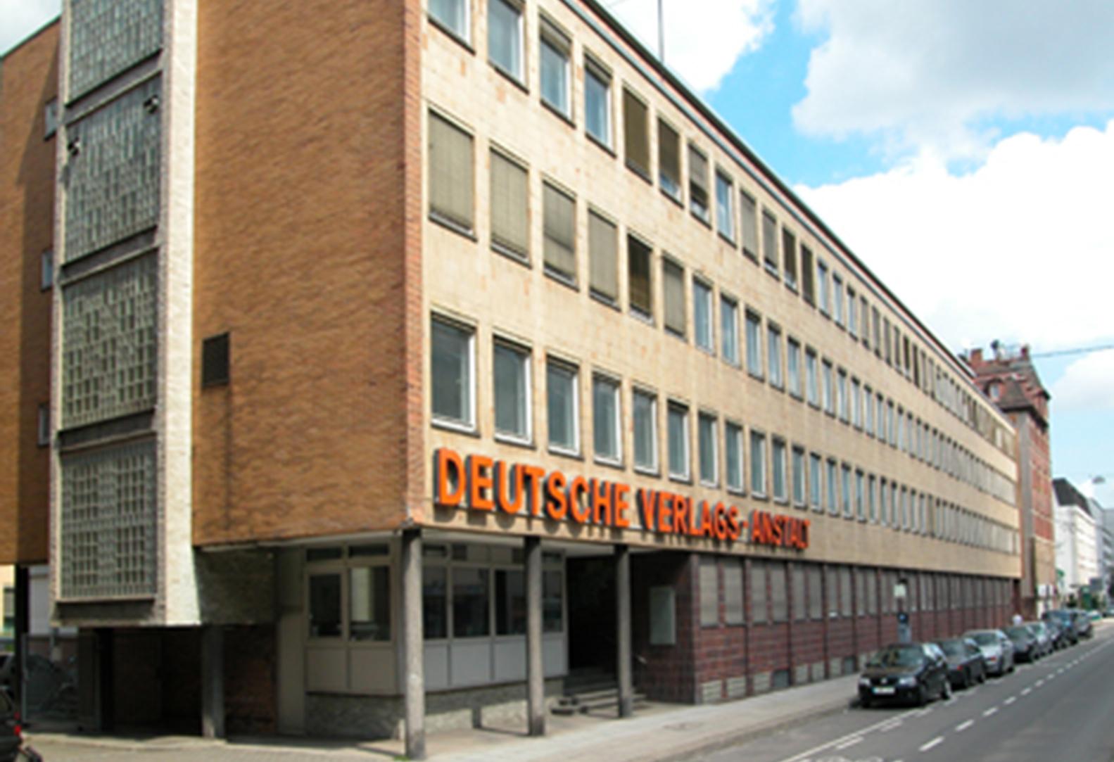 Ehemaliges DVA-Gebäude in Stuttgart