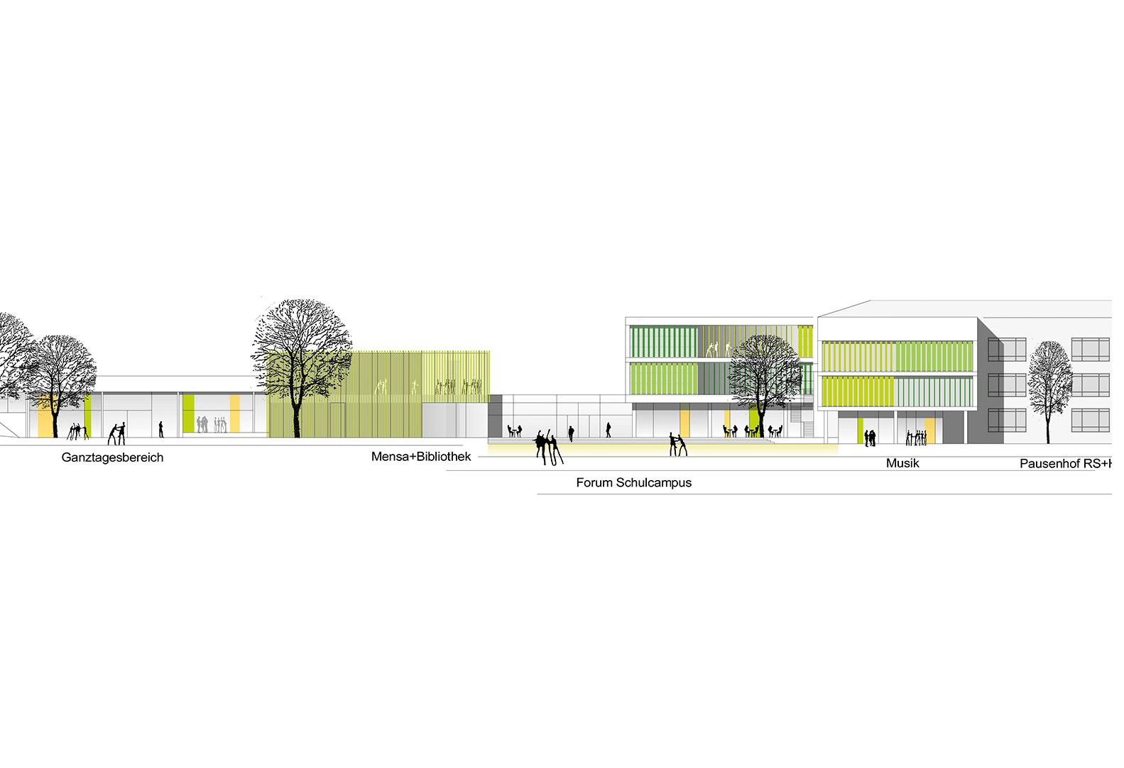 schulzentrum wolfsburg oei architekten. Black Bedroom Furniture Sets. Home Design Ideas