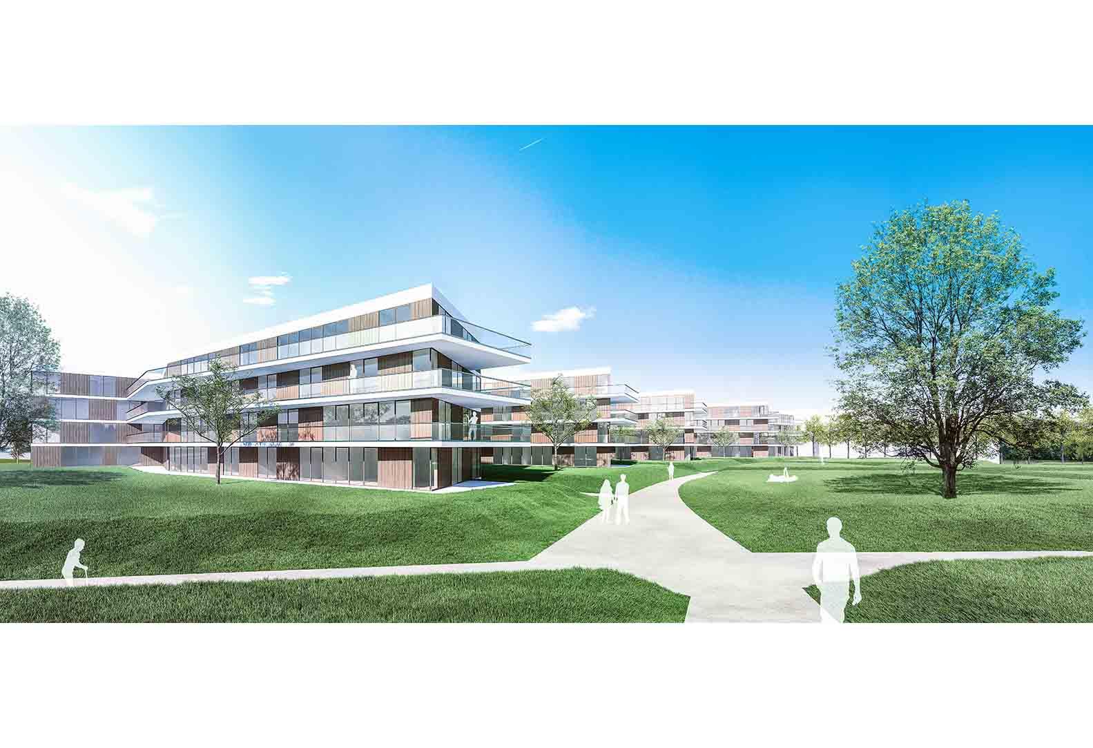 Wettbewerb - Wohnbau Stuttgart