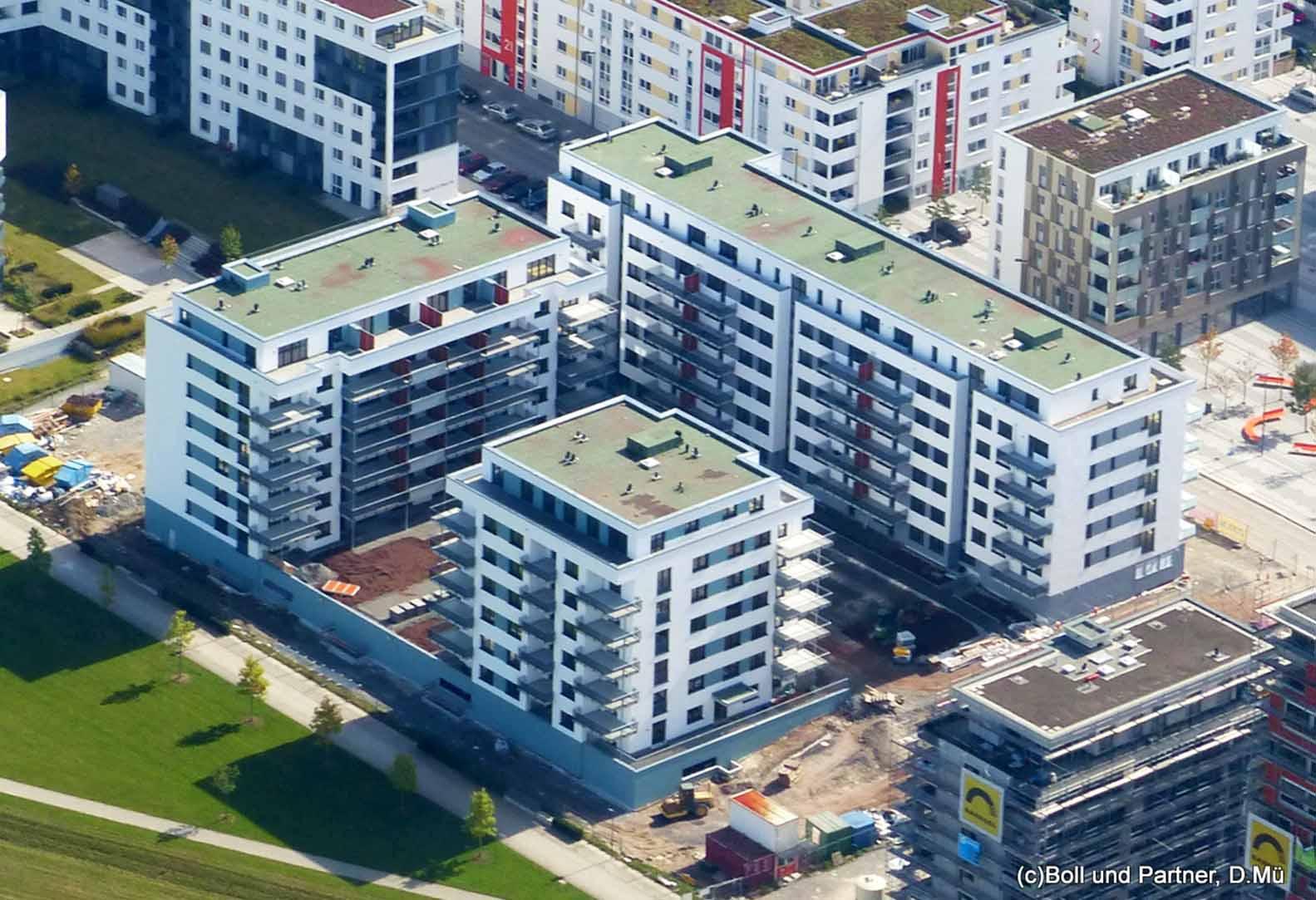 Wohnbebauung Flugfeld Böblingen