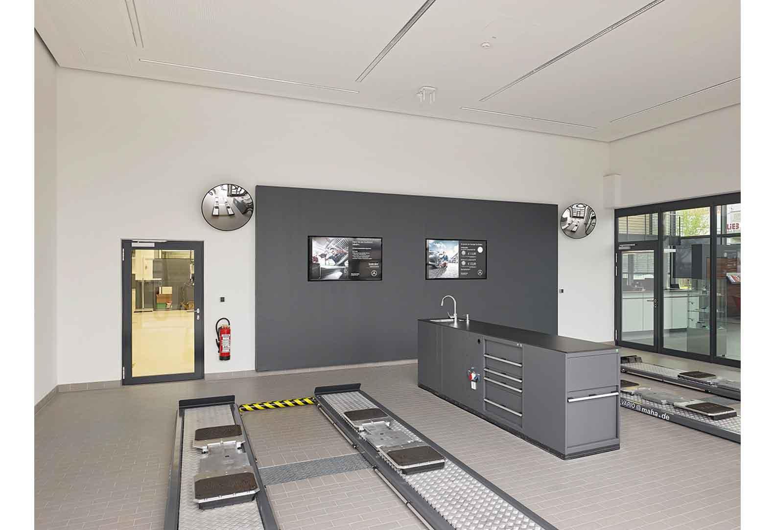 Neubau PKW-Servicebetrieb - Stuttgart