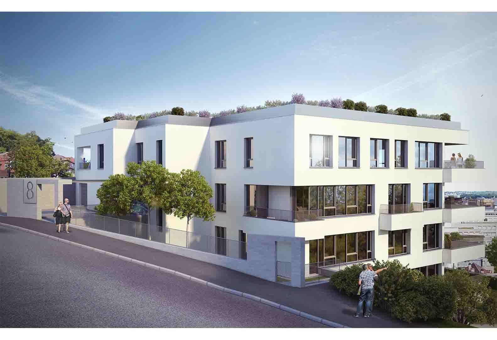 Mehrfamilienwohnhaus mit 17 Wohnungen - Stuttgart